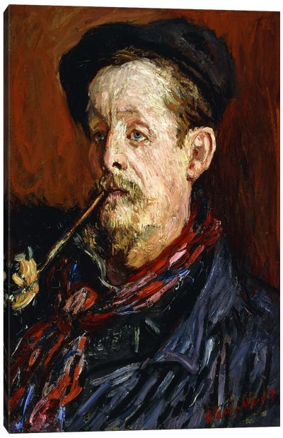 Portrait of Leon Peltier, 1879 Canvas Print #BMN6070