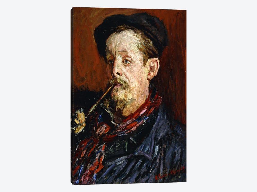 Portrait of Leon Peltier, 1879 by Claude Monet 1-piece Canvas Art