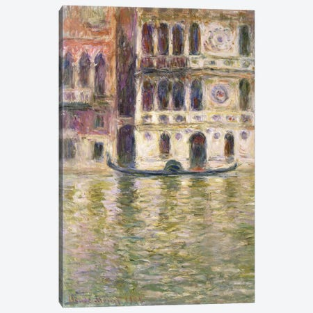 The Palazzo Dario, 1908  Canvas Print #BMN6071} by Claude Monet Canvas Artwork