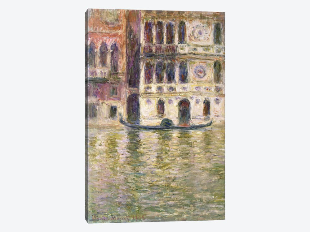The Palazzo Dario, 1908  by Claude Monet 1-piece Canvas Art Print