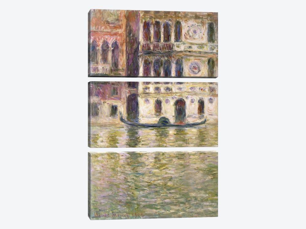 The Palazzo Dario, 1908  by Claude Monet 3-piece Art Print
