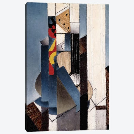 Guitar, 1913  Canvas Print #BMN6074} by Juan Gris Canvas Print