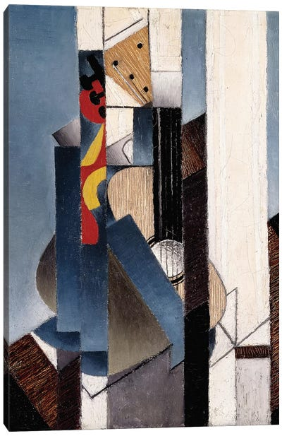 Guitar, 1913  Canvas Art Print