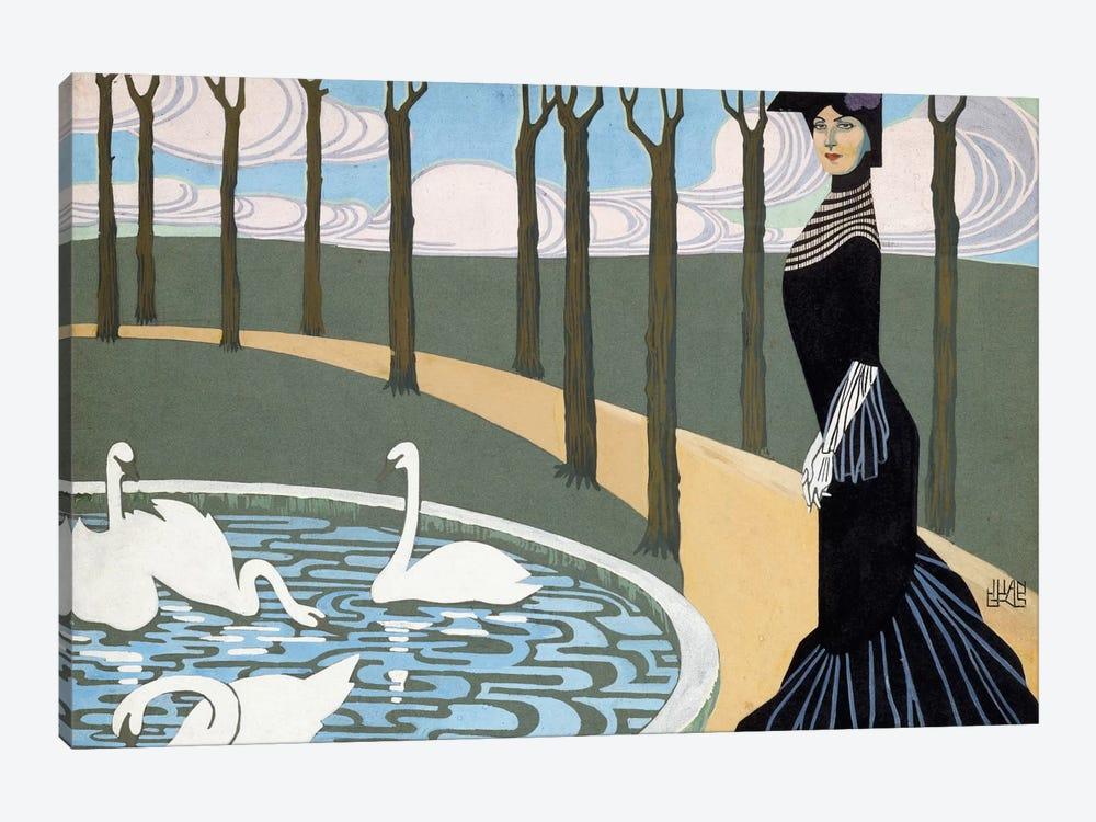 Leda by Juan Gris 1-piece Canvas Art Print