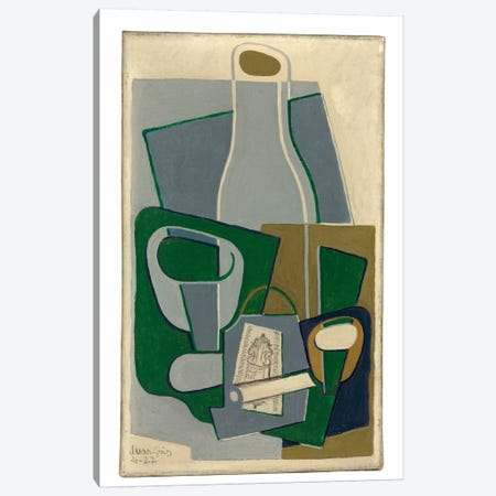Pipe et Paquet de Tabac, 1922  Canvas Print #BMN6088} by Juan Gris Art Print