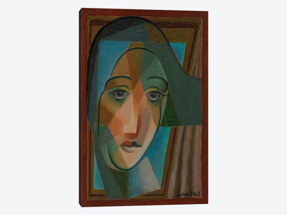 Head of a Harlequin, 1924  by Juan Gris 1-piece Canvas Art