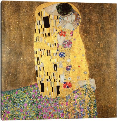 The Kiss Canvas Print #BMN6096