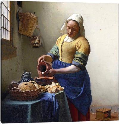 The Milkmaid Canvas Art Print