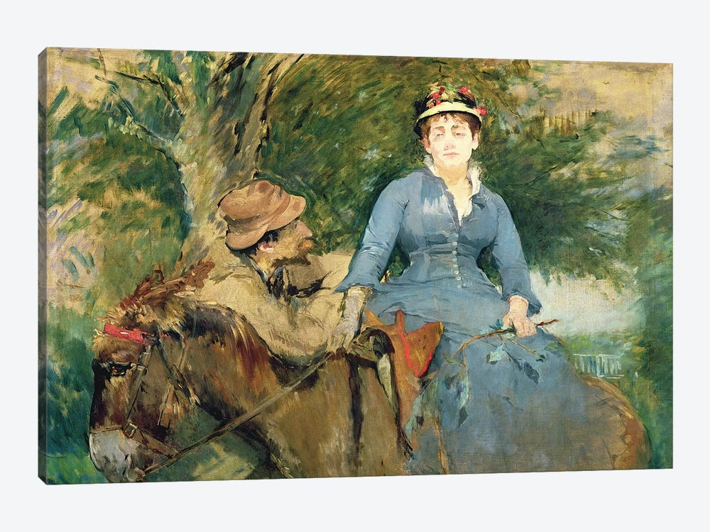 The Donkey Ride, 1880  1-piece Canvas Artwork