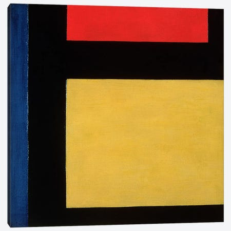 Contra Compositie, 1924 Canvas Print #BMN60} by Theo Van Doesburg Canvas Artwork