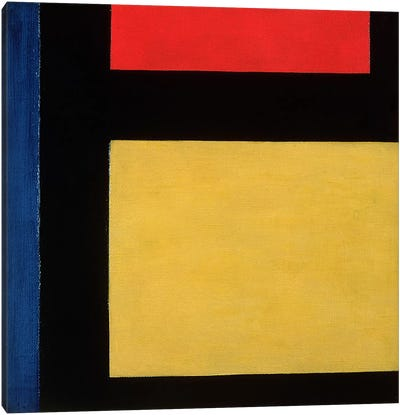 Contra Compositie, 1924 Canvas Art Print