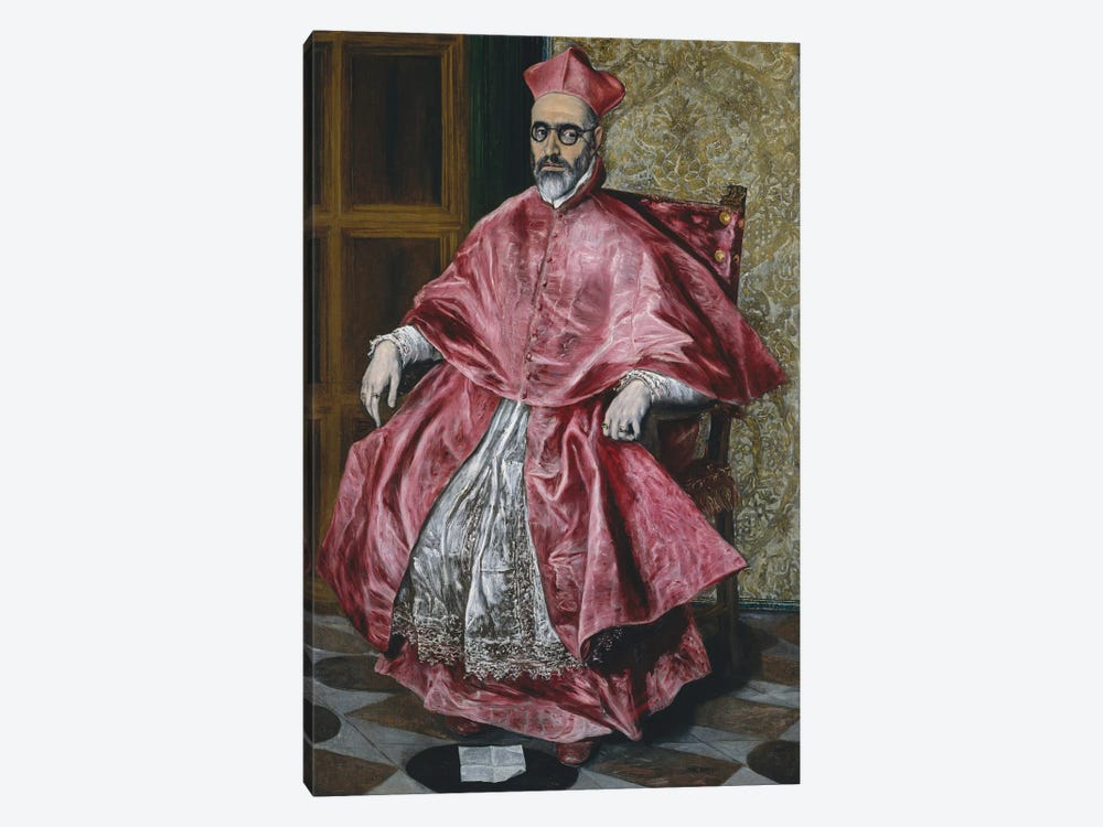 A Cardinal, c.1601 by El Greco 1-piece Canvas Wall Art