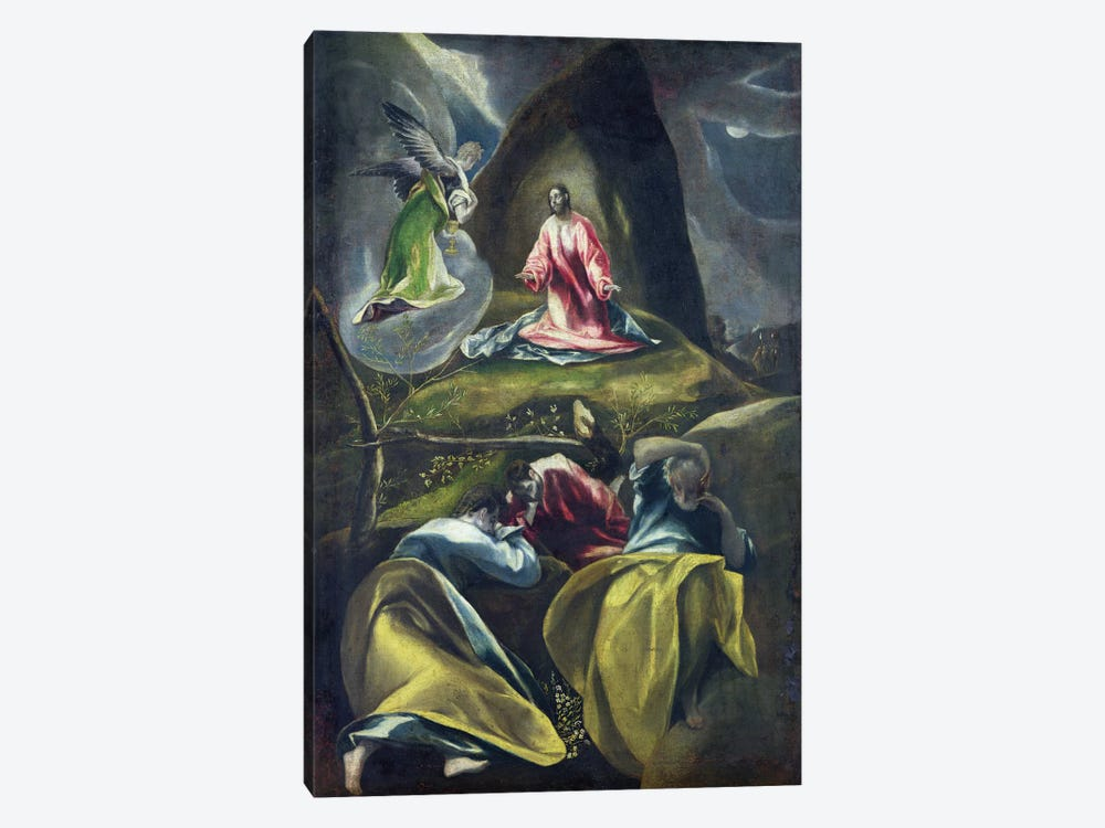 Christ In The Garden Of Olives by El Greco 1-piece Art Print