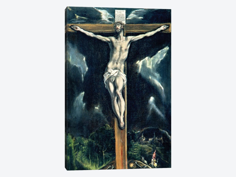 Crucifixion (Casa y Museo del Greco) 1-piece Canvas Art
