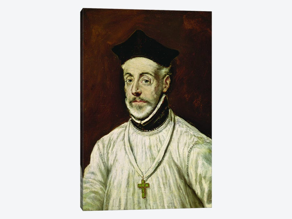 Don Diego de Covarrubias y Leiva, c.1600-05 by El Greco 1-piece Canvas Artwork