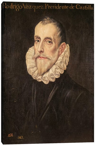 Don Rodrigo Vazquez de Arce Canvas Art Print