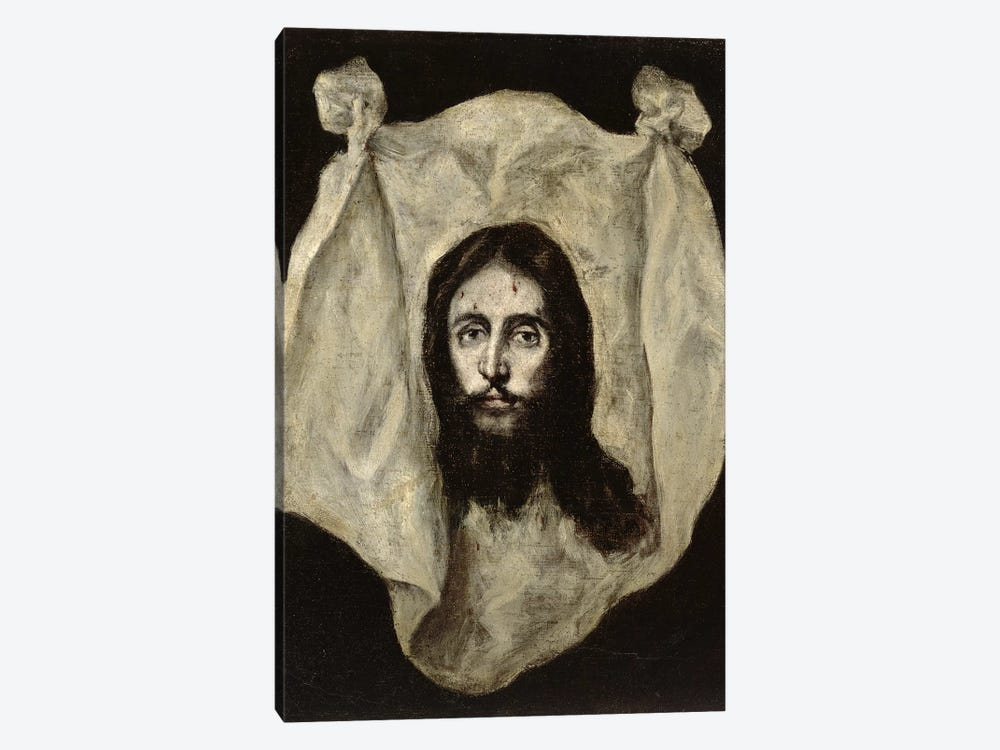 Face Of The Christ by El Greco 1-piece Canvas Wall Art
