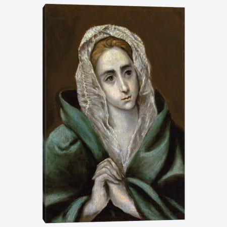 Mater Dolorosa Canvas Print #BMN6151} by El Greco Art Print