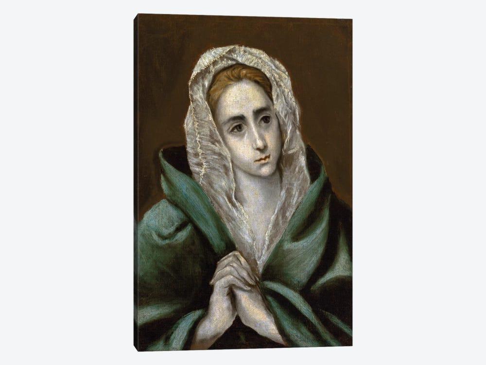 Mater Dolorosa by El Greco 1-piece Canvas Art