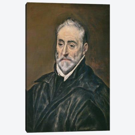 Portrait Of Antonio de Covarrubias y Leiva, c.1600 Canvas Print #BMN6158} by El Greco Canvas Art Print