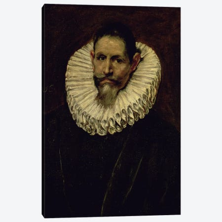 Portrait Of Jeronimo de Cevallos, c.1610 Canvas Print #BMN6161} by El Greco Canvas Artwork