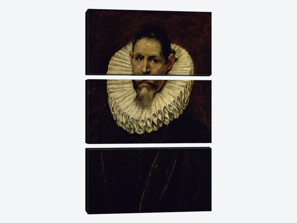 Portrait Of Jeronimo de Cevallos, c.1610 by El Greco 3-piece Art Print