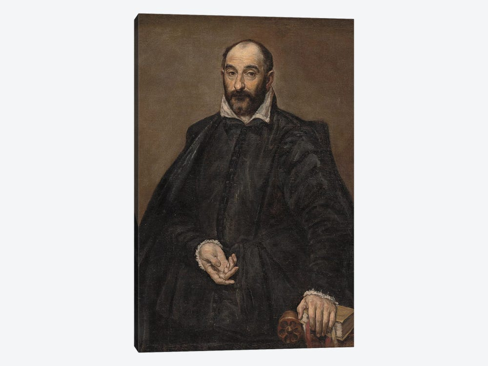 Portrait Of A Man by El Greco 1-piece Art Print