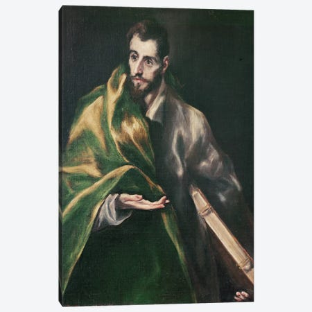 Saint Jacques le Majeur, c.1610-14 Canvas Print #BMN6173} by El Greco Canvas Art Print