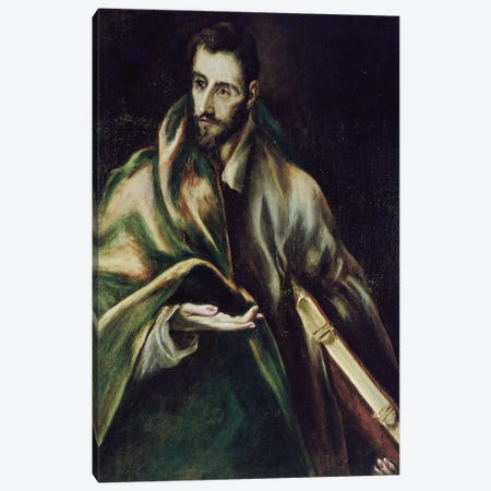 Saint James The Greater Canvas Print #BMN6174} by El Greco Canvas Artwork