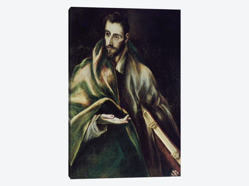 Saint James The Greater by El Greco 1-piece Art Print