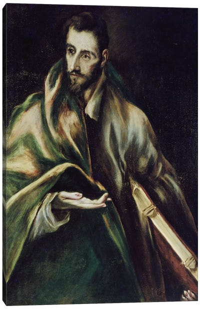 Saint James The Greater Canvas Art Print