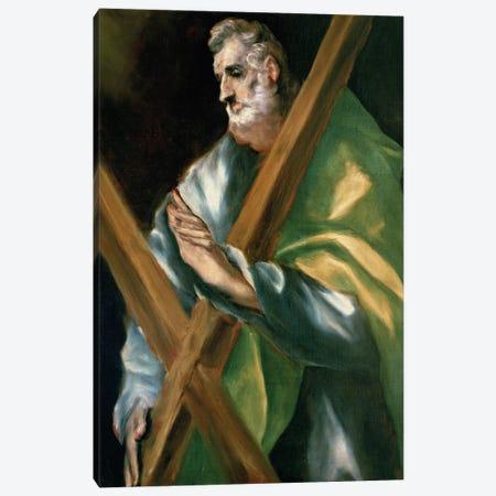 St. Andrew (Casa y Museo del Greco) Canvas Print #BMN6181} by El Greco Canvas Artwork