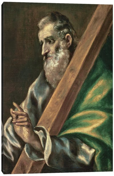 St. Andrew (Museum Of Fine Arts - Budapest) Canvas Art Print