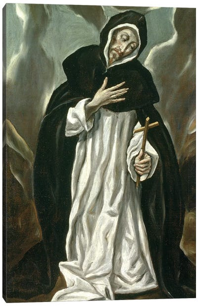 St. Dominic Of Guzman Canvas Art Print