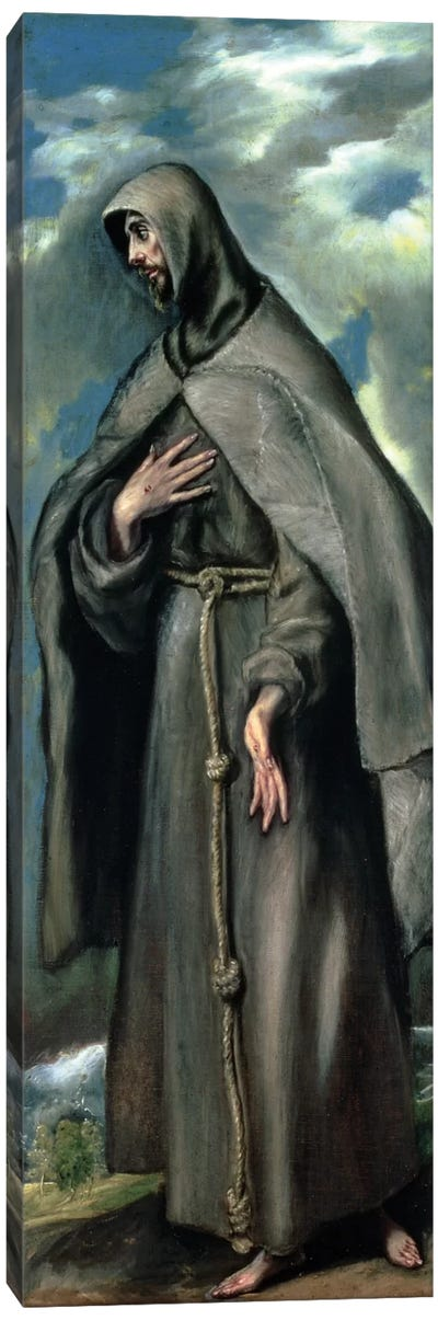 St. Francis Of Assisi Canvas Art Print