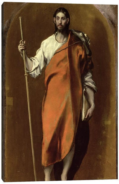 St. James The Greater Canvas Art Print