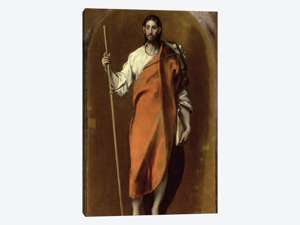 St. James The Greater by El Greco 1-piece Art Print