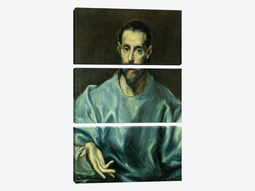 St. James The Greater by El Greco 3-piece Canvas Artwork