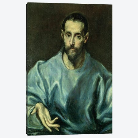 St. James The Greater 3-Piece Canvas #BMN6195} by El Greco Canvas Art