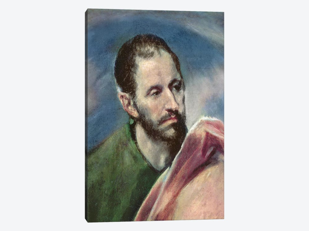 St. James The Less, c.1595-1600 by El Greco 1-piece Canvas Art Print