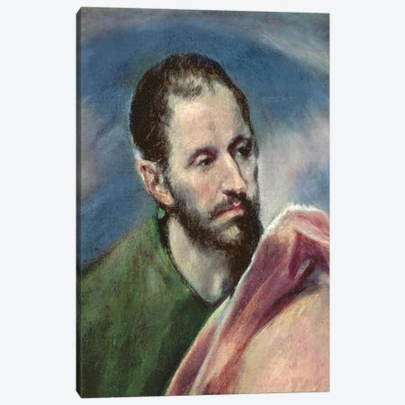 St. James The Less, c.1595-1600 Canvas Print #BMN6196} by El Greco Canvas Art