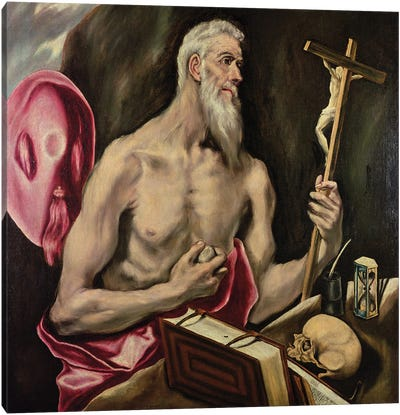 St. Jerome Canvas Art Print