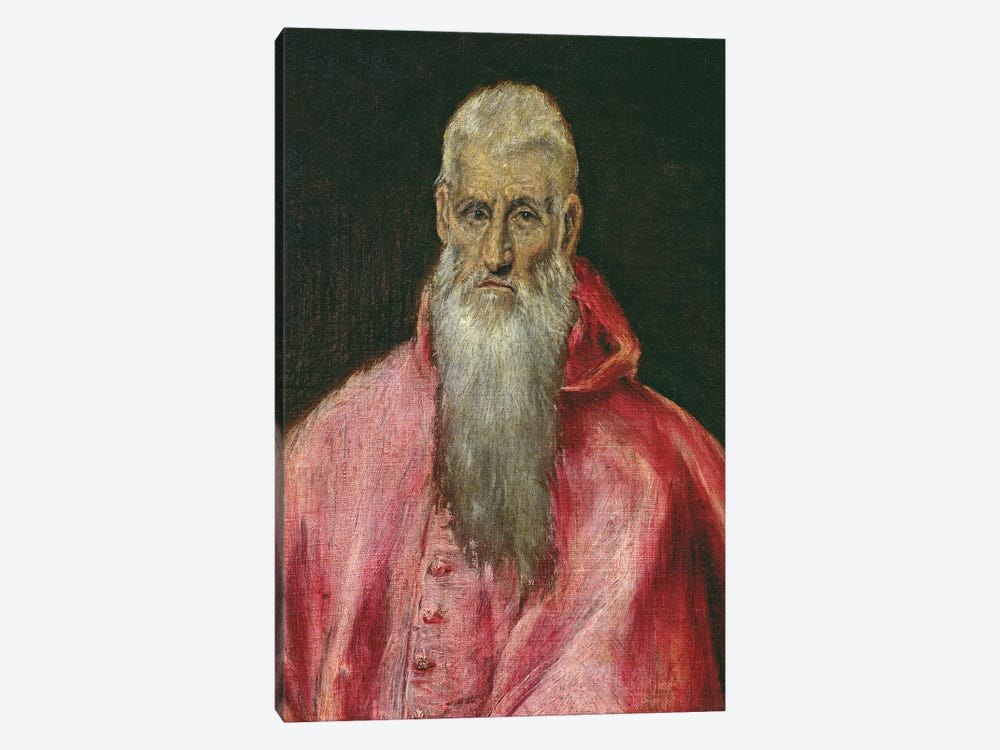 St. Jerome by El Greco 1-piece Art Print