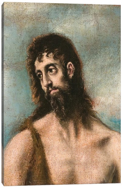St. John The Baptist Canvas Print #BMN6199