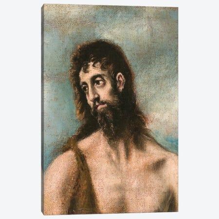 St. John The Baptist 3-Piece Canvas #BMN6199} by El Greco Art Print
