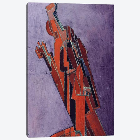 Figure Study - Design for Sculpture Canvas Print #BMN61} by Lawrence Atkinson Canvas Art