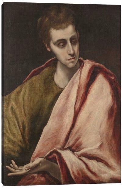 St. John, 1590-95 Canvas Print #BMN6202
