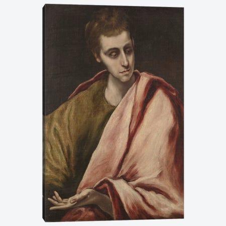 St. John, 1590-95 Canvas Print #BMN6202} by El Greco Canvas Print