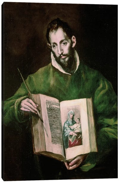 St. Luke Canvas Art Print