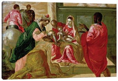 The Adoration Of The Magi, 1567-70 Canvas Art Print